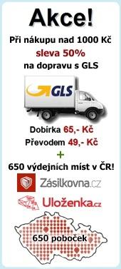 Akce doprava, GLS, Uloženka.cz, zasíláme na Slovensko