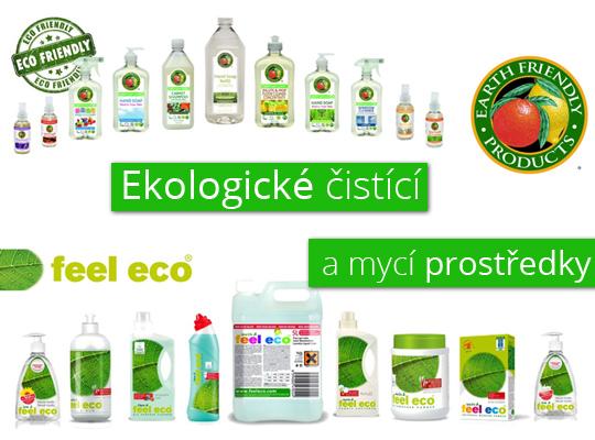 Ekologické čistící a mycí prostředky Feel Eco