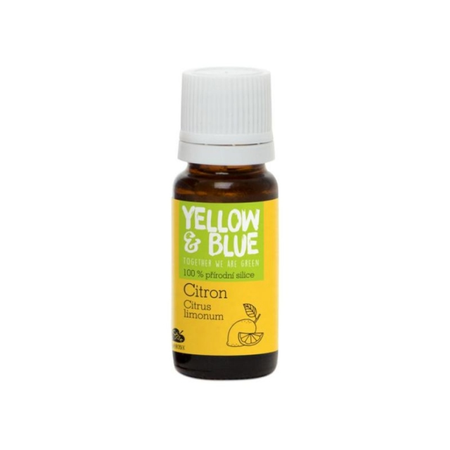 Citronová silice 10ml Yellow & Blue