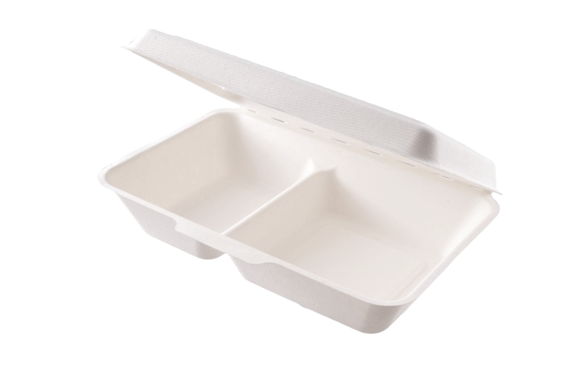 Menu box 2 sekce 1000ml - 23x15cm, Vegware