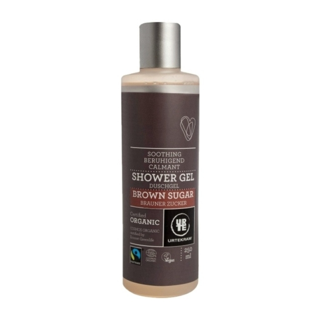 Urtekram Sprchový gel brown sugar 250ml BIO