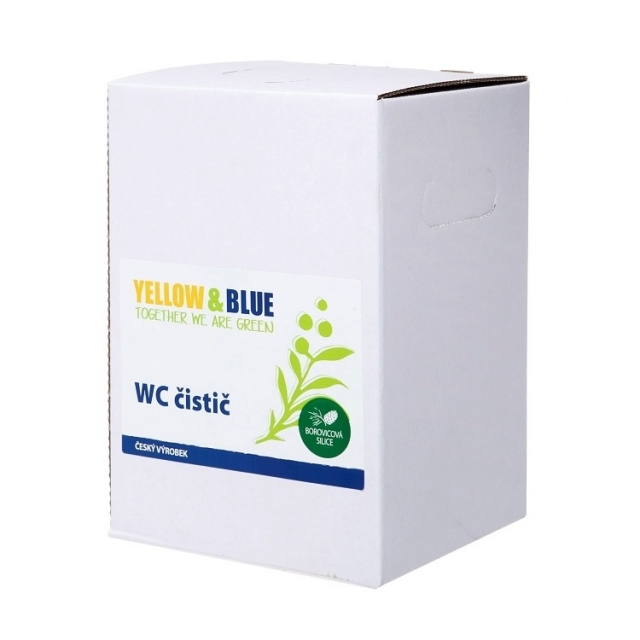 WC čistič 5l Yellow & Blue